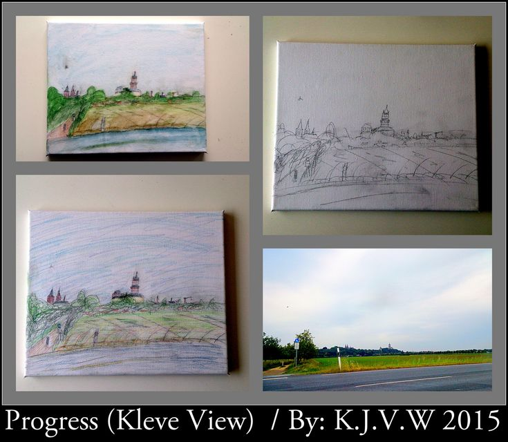 In Progress (Kleve View) | Real picture was made from a car outside just Kleve.