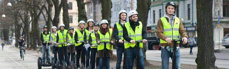 Segwaytur i Stockholm, Göteborg eller Malmö m.fl. för 499 kr per person. En Present Att Minnas ifrån Upplevelse.com. Köp Tryggt Online.
