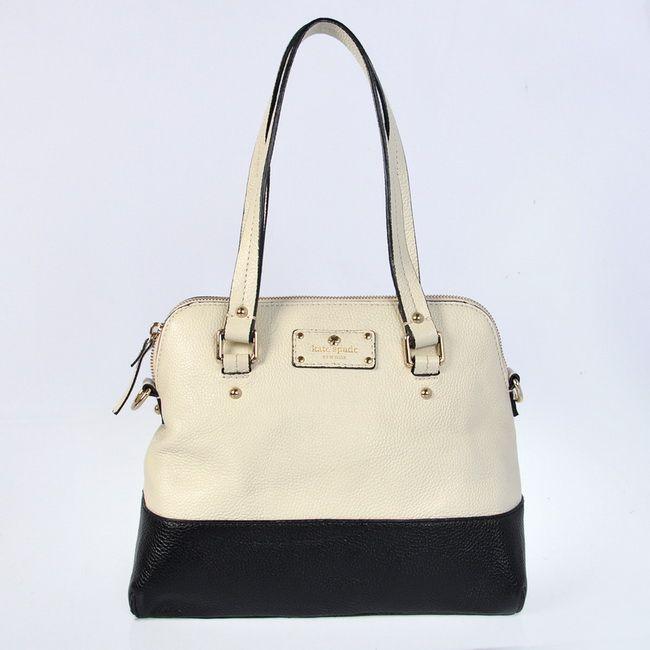 HO868300 Kate Spade Grove Court Maise Leather Beige Bag