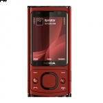 #Nokia 6700s Slider libre de fábrica en exclusivo color rojo por sólo 69€