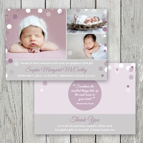 1000 images about Birth Announcements for LITTLE GIRLS on – Pinterest Birth Announcement