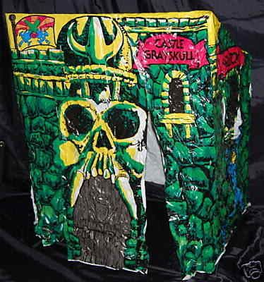 My brother Shawn & I had one of these back when I was in 1st grade.  Castle Greyskull Tent.