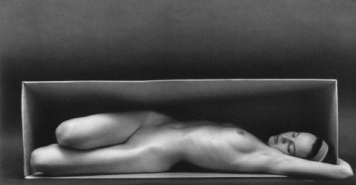 Ruth Bernhard- In the Box, Horizontal, 1962