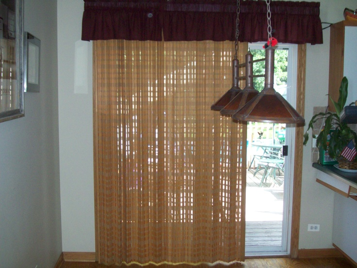 16 best sliding glass door window treatments images on pinterest