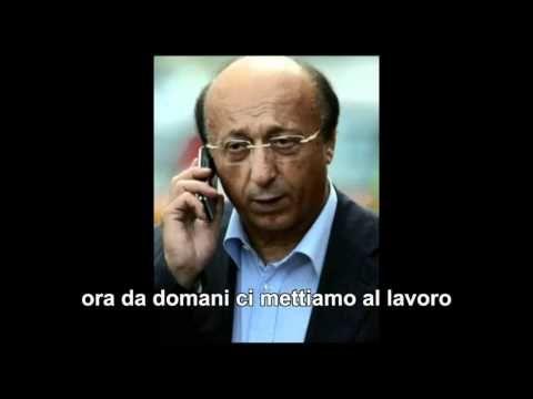 Calciopoli: Intercettazione Moggi Mazzini