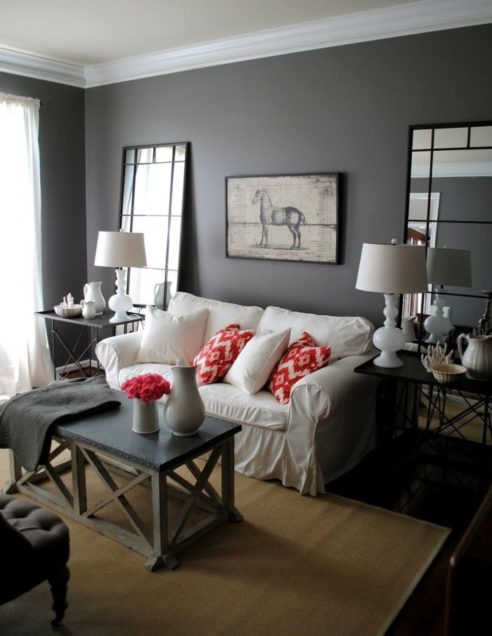 6 Beautiful Gray Living Room Ideas To Capture The Minimalist Look Living Room Grey Living Room Color Small Space Living