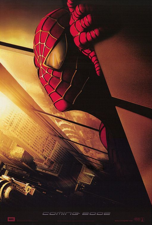 Spider-man.  2002.  This is the one that was pulled from circulation immediately after 9/11 because of the reflection of the twin towers in Spidey's eye.