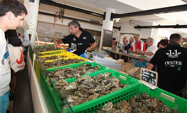 Bar à huîtres : l'Oyster Bar à Arcachon | Huitres Laban