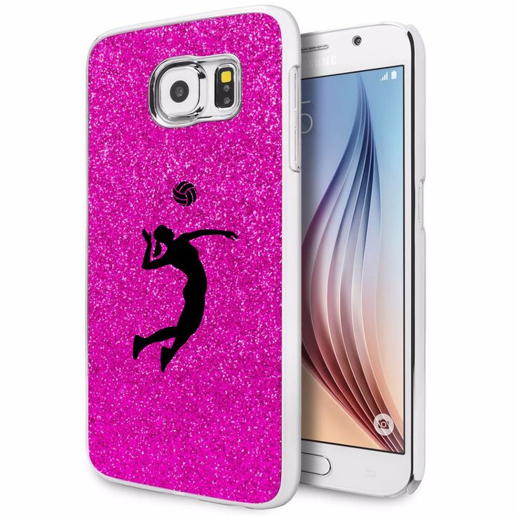 For Samsung Galaxy S4 S5 S6 Edge Glitter Bling Case Female Volleyball Player in Cell Phones & Accessories, Cell Phone Accessories, Cases, Covers & Skins | eBay