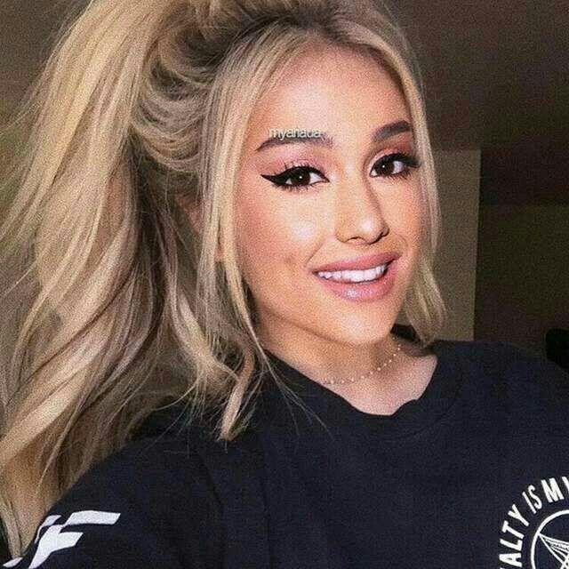Ariana BLONDINE...??