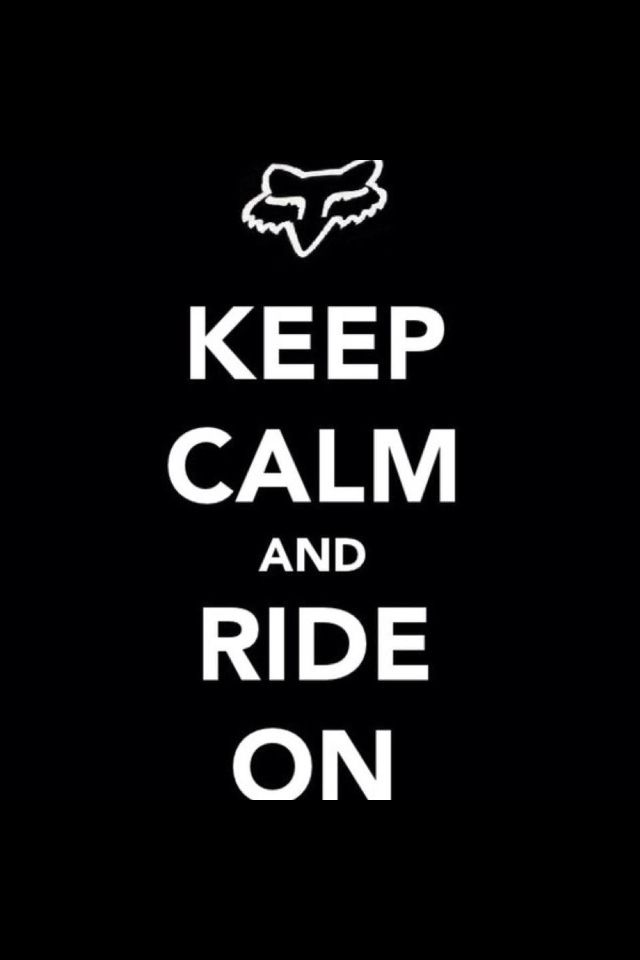 Having a bad day get on your dirt bike and ride everything will fee lbetter.
