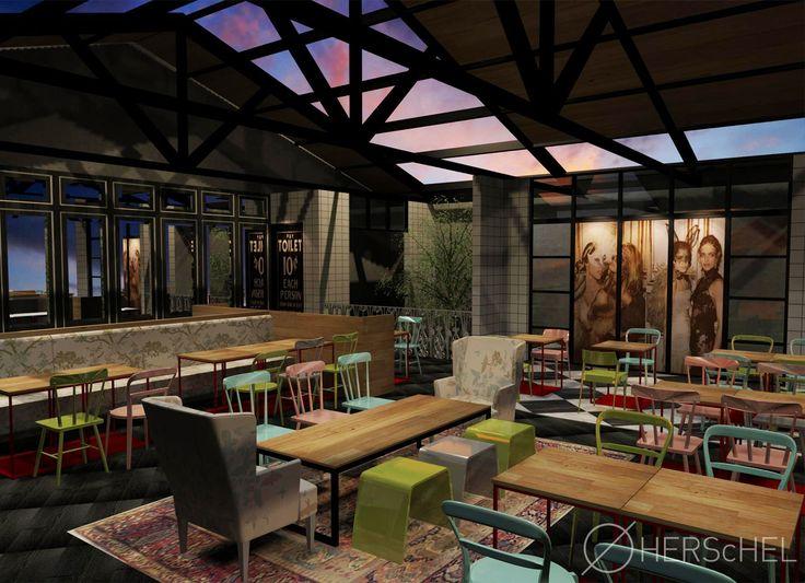 Mama Goose Restaurant, Panglima Polim, Jakarta - Herschel, Interior Designer, Jakarta.. Call us at +62 21 3192 6188