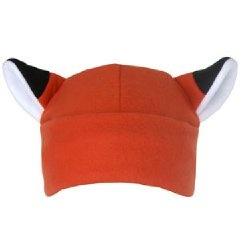 Fox Hat (I will knit a this for my kid)