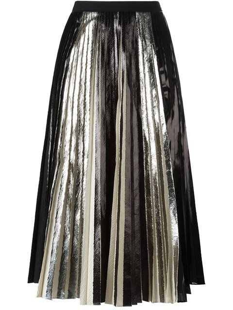Shop Proenza Schouler metallic pleated skirt in Stefania Mode from the world's best independent boutiques at farfetch.com. Shop 400 boutiques at one address.