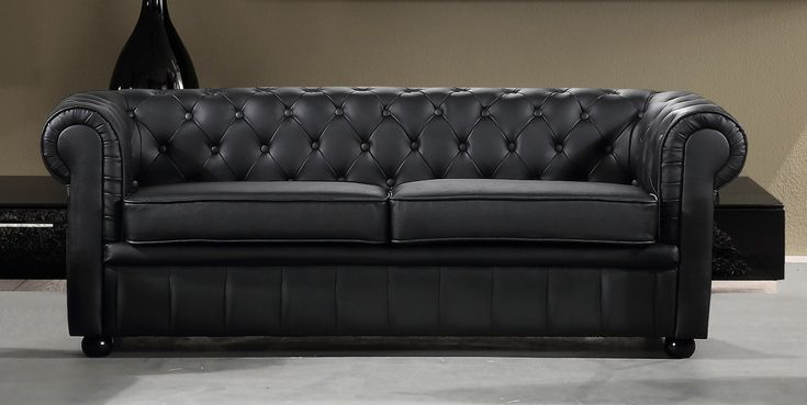 VELAGO - AVIGNON Leather Sofa