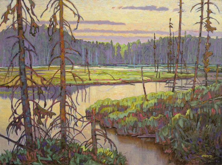 Terry Watkinson, 'Northern Wetlands' at Mayberry Fine Art 36 x 48 (2010)