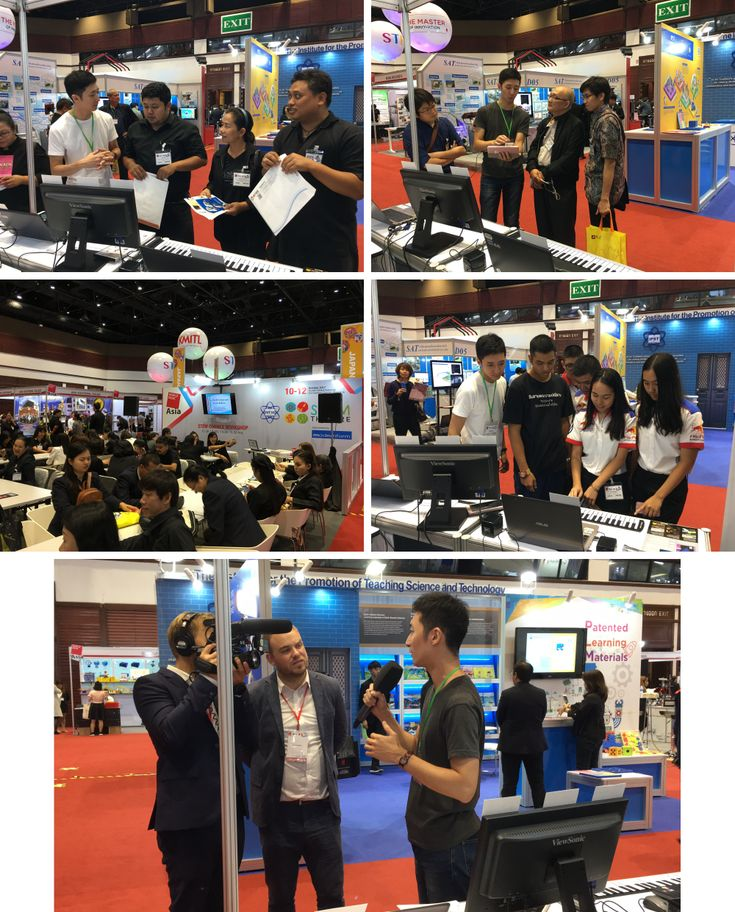 Worlddidac Asia in Bangkok, 2017. Great show, fascinating experience and whole lot of friends
