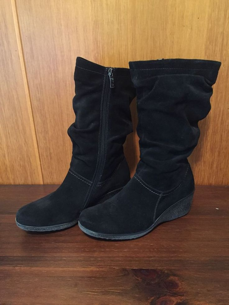 ara-Suede Leather Fur Lined  Boot-Size 38  | eBay