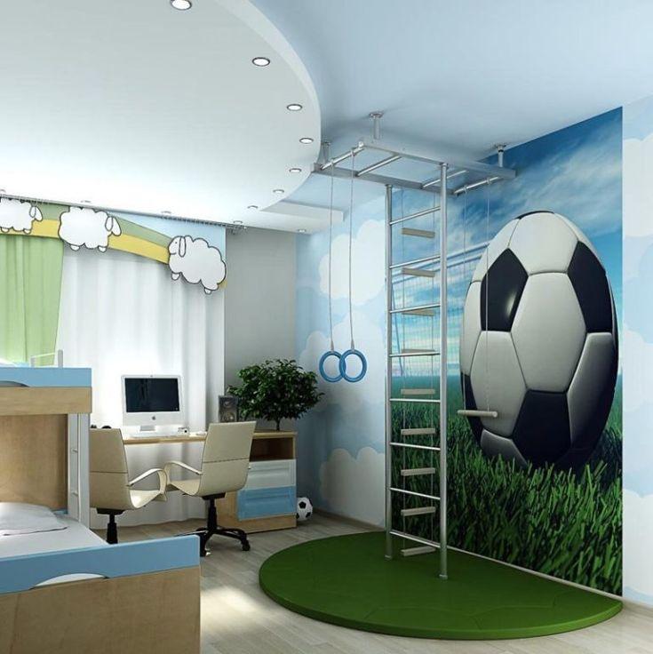 Интерьер комнаты для мальчиков в картинках