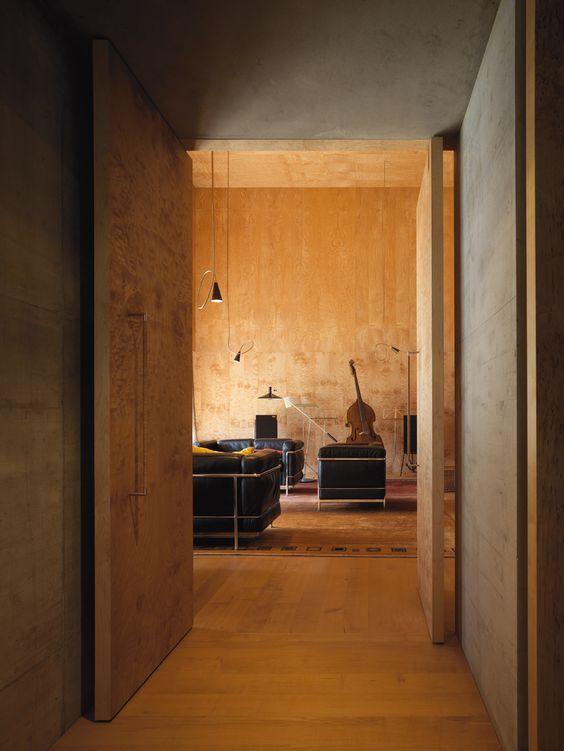 Zumthor House, Haldenstein, 2005: