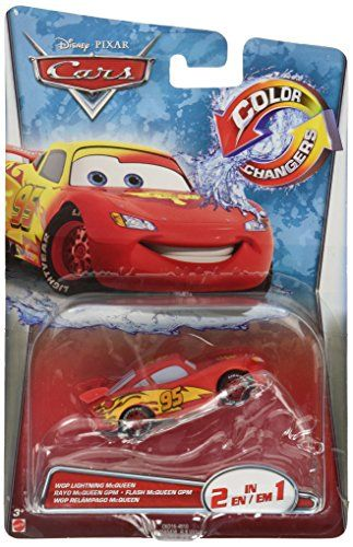 Disney/Pixar Cars, Color Changer, Lightning McQueen [Red to Yellow] Vehicle