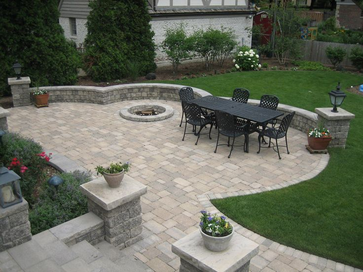 best 25+ stone patios ideas only on pinterest | stone patio ... - Stone Patio Design