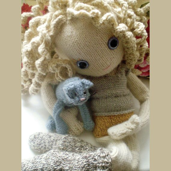 My doll - Pixie moon  http://www.etsy.com/listing/87578671/pixie-moon-new-knitted-doll-pattern