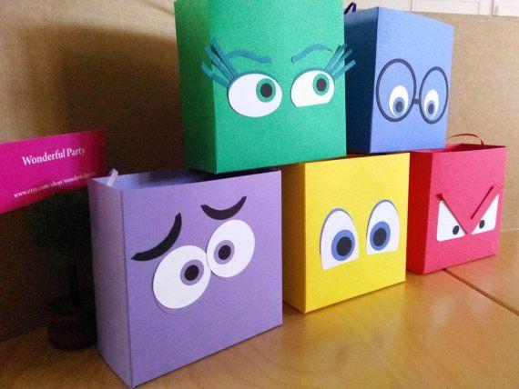 Cajas de adentro hacia fuera inspirado por WonderfulParty en Etsy