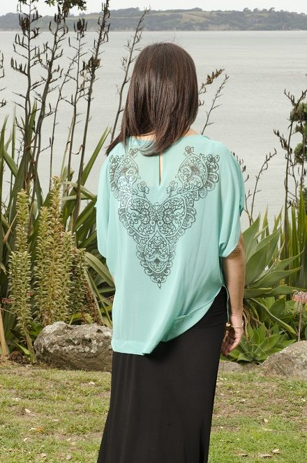 This Lemon Tree top is stunning by it having an amazing design on the back as well as the front! www.themerinostory.com