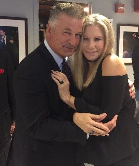Backstage at Jimmy Fallon's Tonight Show w/ Barbra Streisand and Alec Baldwin