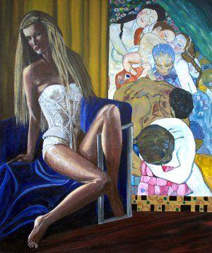 Blandede malerier