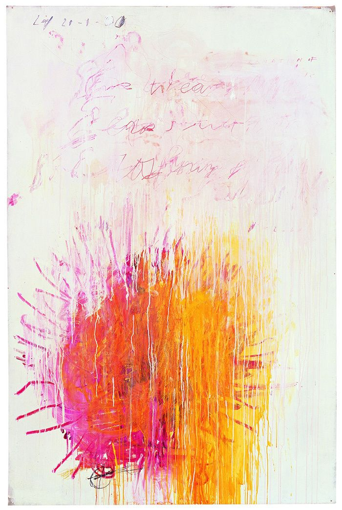 Cy Twombly / Où : Centre Pompidou, place Georges-Pompidou, 75004 Paris / Quand : Du 30 novembre 2016 au 24 avril 2017 / Cy Twombly, Coronation of Sesostris, 2000 / © Pinault Collection - Photo: Robert Mc Keever