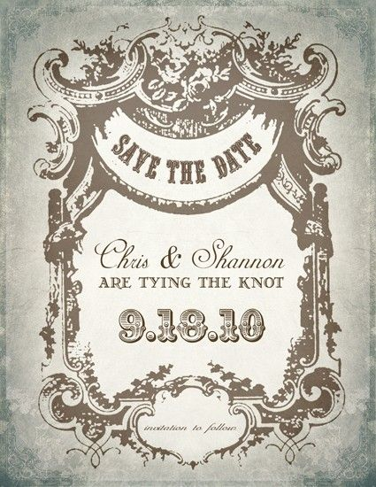 Vintage Invitation 129 best Country Wedding Invitations