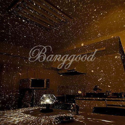 Projecteur ciel etoile led multicolore nuit lampe veilleuse stars diy deco sky babys room - Veilleuse lumiere plafond ...