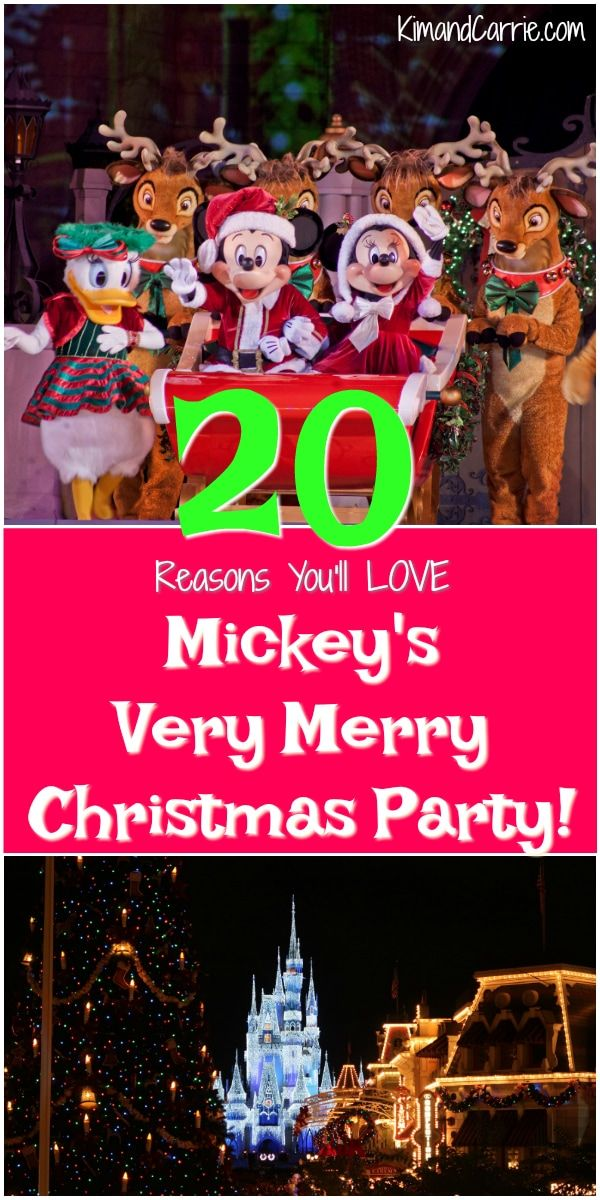 20 Reasons You\u0027ll Love Mickey\u0027s Very Merry Christmas Party Disney