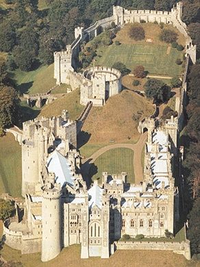 Arundel Castle . West Sussex, England