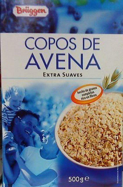 Copos de Avena Brüggen (Mercadona) - 3 Cd (24 gr) 1,5 p y a saciedad 4 p