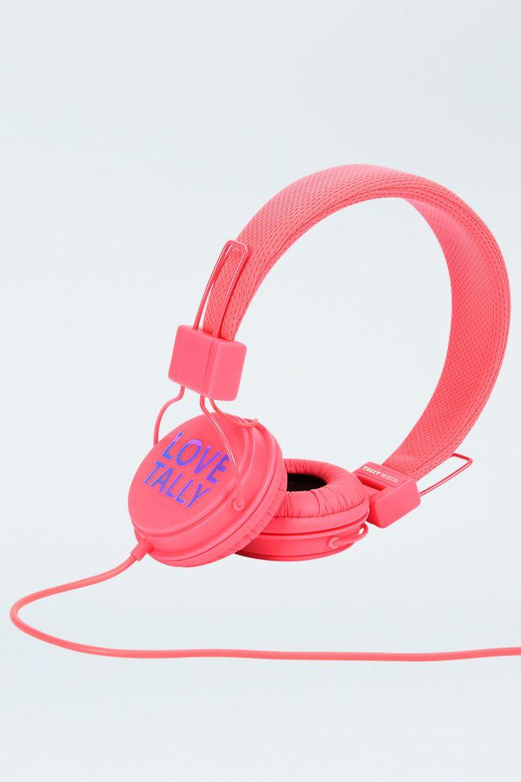 #Pink #TALLYWEiJL #headphones!