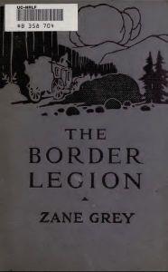 The Border Legion (Illustrated)