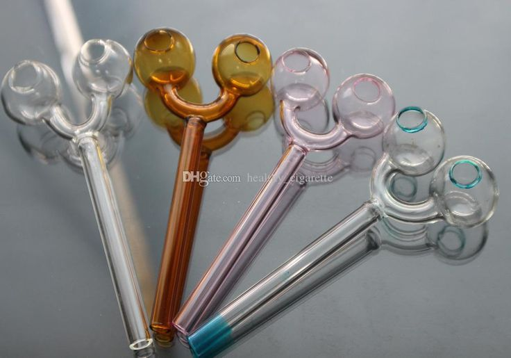 New Design Double Glass Pipe Clear Glass Oil Burner Glass Tube Glass Pipes Oil Nail Glass Pipes Glass Water Pipes Online with $1.66/Piece on Healthy_cigarette's Store   DHgate.com