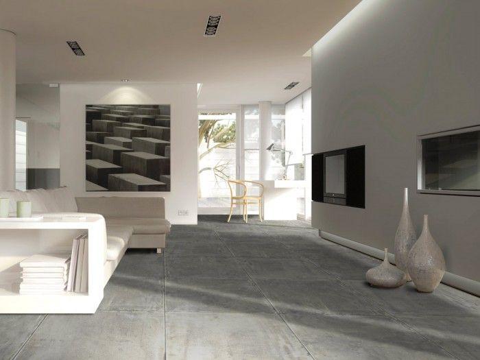 District Charcoal Floor Tile