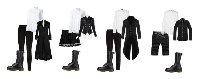 """""""Norora School of Magic"""" by schuby2000 on Polyvore featuring Paige Denim, Frame, Misha Nonoo, Versace and Dr. Martens"""