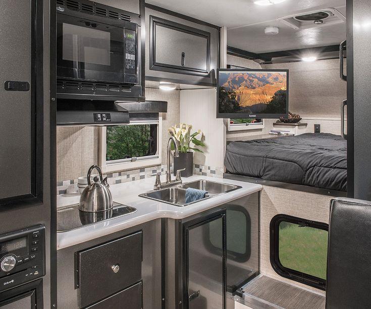 2017 Livin' Lite CampLite 8.4s Truck Camper Kitchen Cabinets