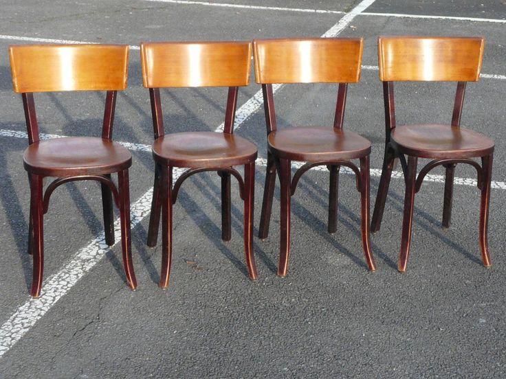 Baumann chaises de bistrot bois collector chic chaise for Chaise bistrot baumann prix