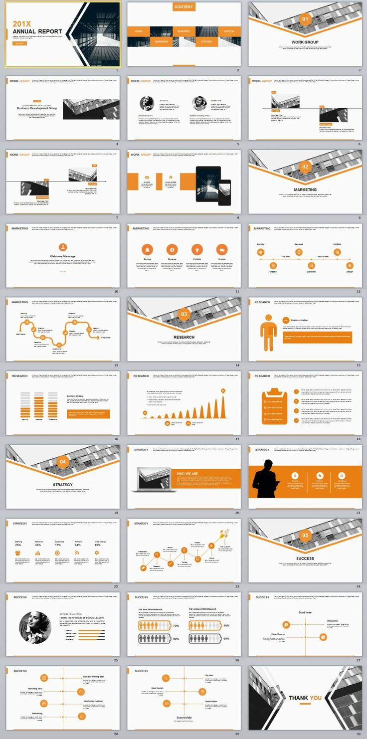 30+ yellow business Design PowerPoint template