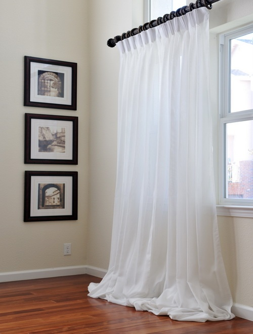 Signature Double Layered Sheer Curtains