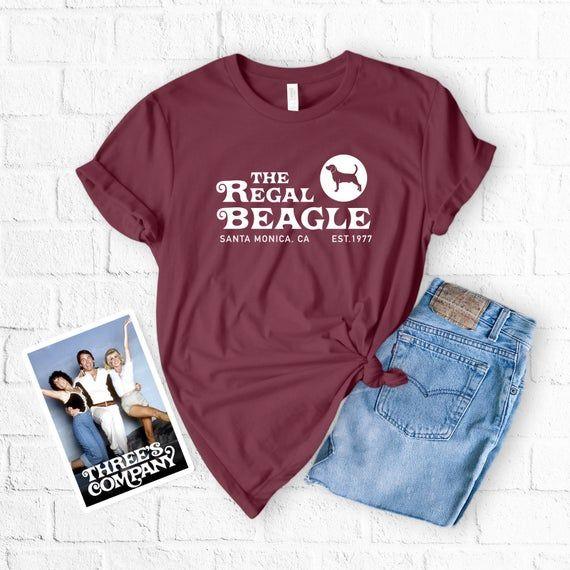 The Regal Beagle T Shirt Threes Company Shirt John Ritter