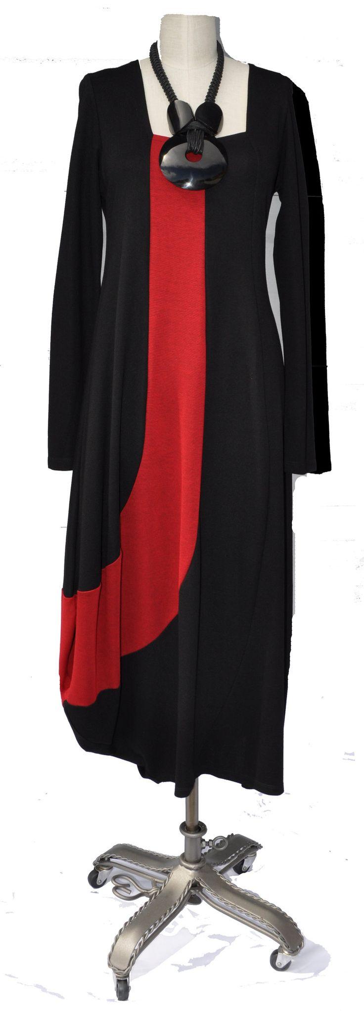 Alembika color swirl dress
