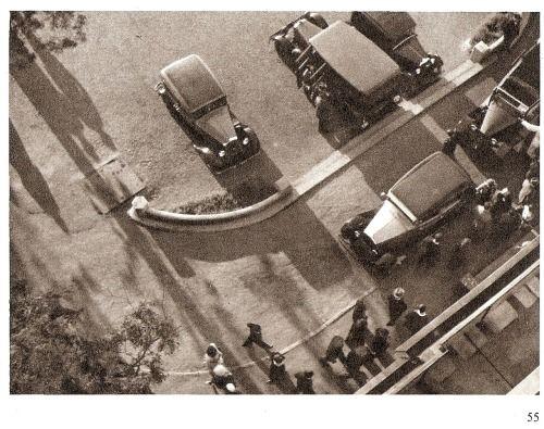 Prague parking by J.Lauschmann, 1933