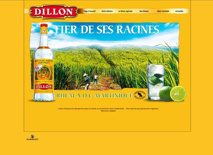 Rhum Dillon (Réalisation www.imagescreations.fr)